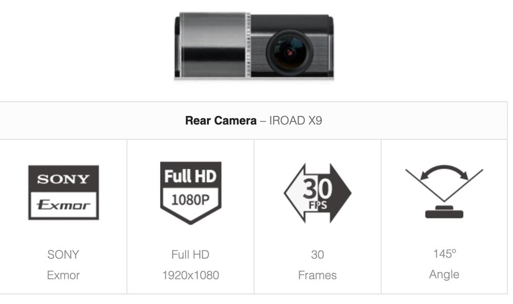 camera hanh trinh iroad x9