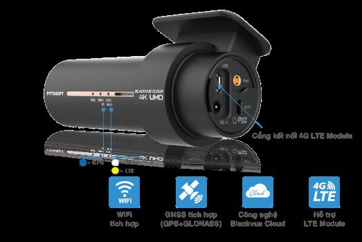 camera hanh trinh blackvue DR900X-2CH 2 kenh