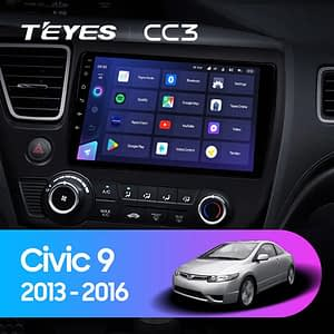 teyes cc3 honda civic 2013 2016