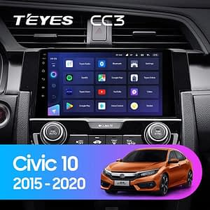 teyes cc3 civic 2020