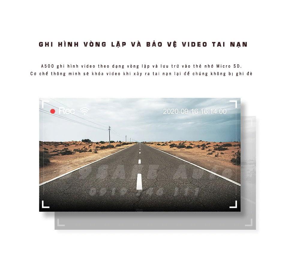 camera hanh trinh A500