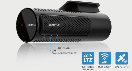 camera hanh trinh BlackVue DR750-2CH LTE tich hop the sim