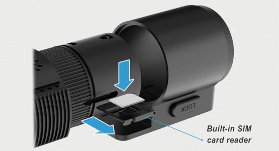 camera hanh trinh BlackVue DR750-2CH LTE the sim nano