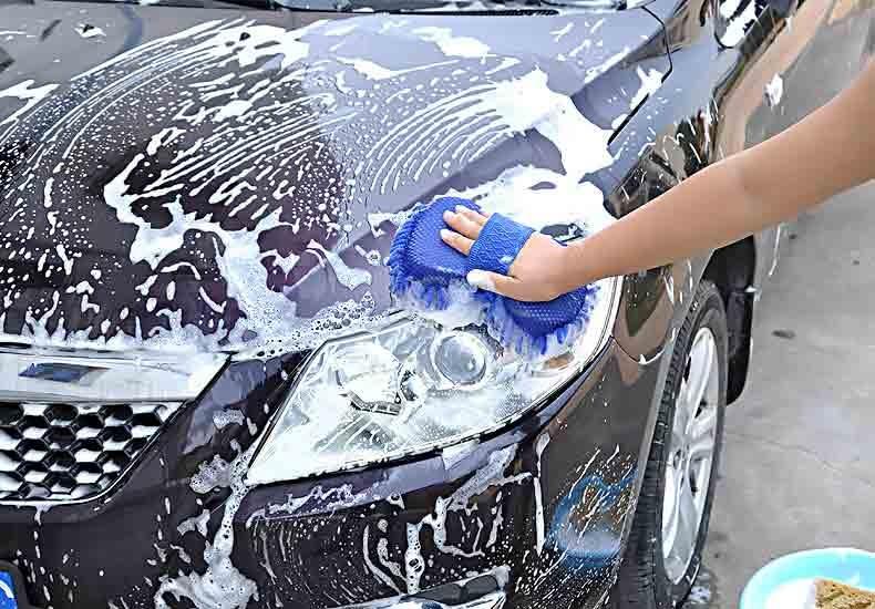 miếng rửa xe ô tô bọt biển san hô